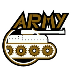Army icon vector