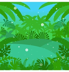 Jungle flat background18 vector