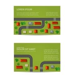 Print rooftops vector