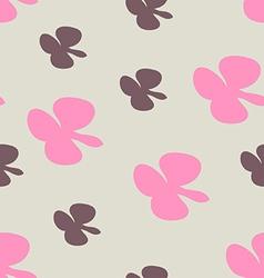 Seamless background pink and brown vector