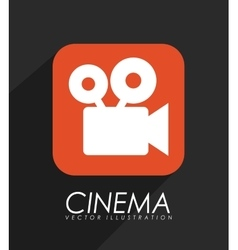 video application icon vector image