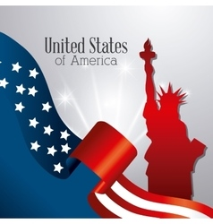 United states patriotism design vector