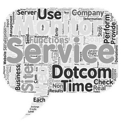 Can Web Service Companies Do Without x Dotcom vector image