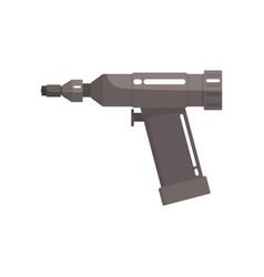 orthopedic drill medical equipment cartoon vector image