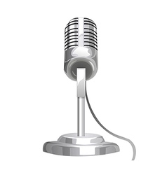 A view of a microphone vector