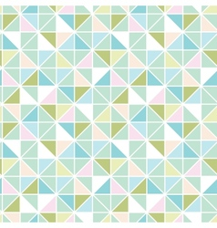 Colorful pastel triangle texture seamless pattern vector
