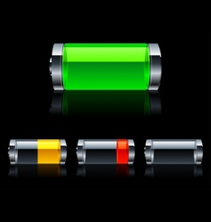 Batteries vector