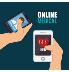 Online medical design vector