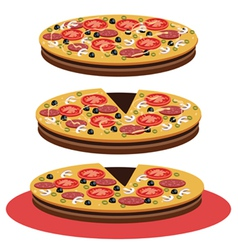 Pizza - vector