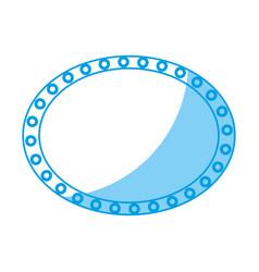 Retro frame design vector