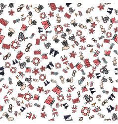 swimming set pattern vector image