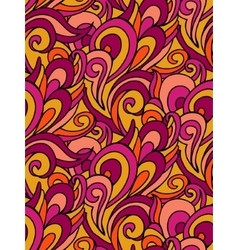 Abstract swirl pattern colorful waves vector