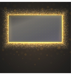 Glittering star dust background vector image vector image