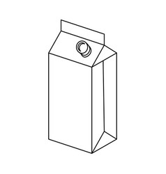 Liquid container packaging vector