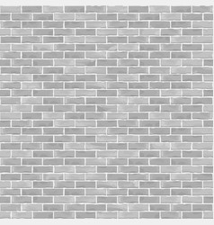 Seamless brick wall background vector