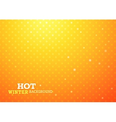 Hot christmas background vector