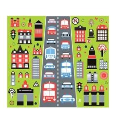Urban automobile vector image vector image