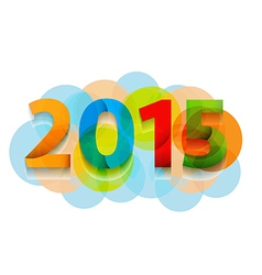 Happy new year 2015 celebration background banner vector
