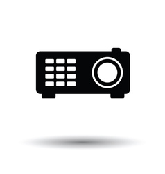 Video projector icon vector