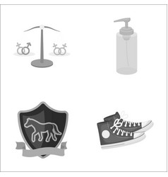 Business leisure tourism and other monochrome vector