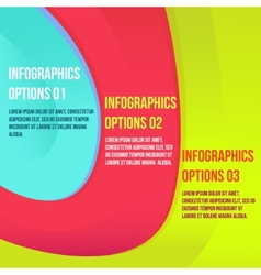 Infographics colorful vector