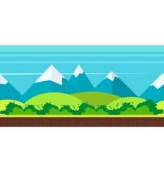 Game background flat style vector