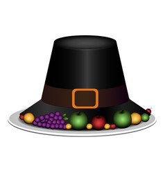 traditional hat vector image