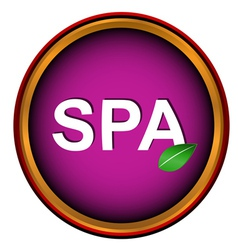 New spa icon vector