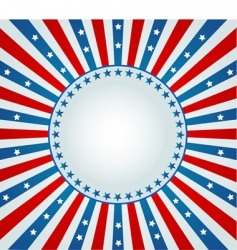 star spangled banner vector image