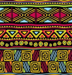afrikan seamless pattern vector image
