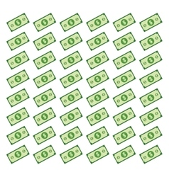 Billets money isolated vector