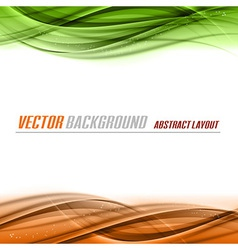 Green Orange vector image