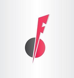 Letter f icon design element vector