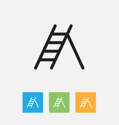 of instrument symbol on ladder vector image vector image