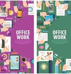 Teamwork logo design template office or vector