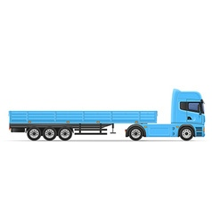 Truck semi trailer 02 vector