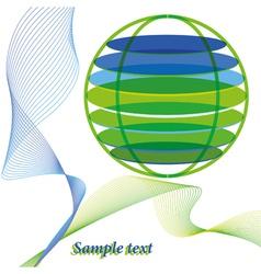 abstarct world vector image