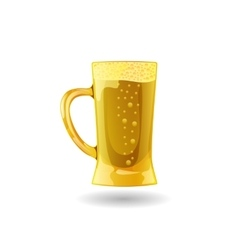 Background beer cup alcohol drink eps vector