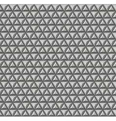 A pattern of triangles vector