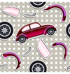 Cars Seamless pattern vector image vector image