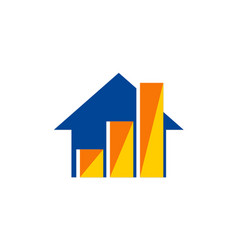 House sold agent business logo vector
