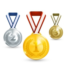 Medals vector image