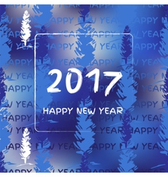 New year 2017 vector image