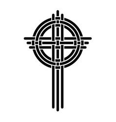 cross as a christian symbol vector image