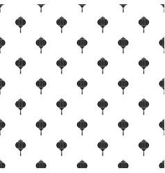 red chinese lantern pattern vector image
