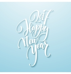 Decorative Greeting Card with handdrawn lettering vector image vector image