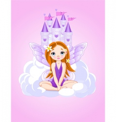 fairy icons vector image