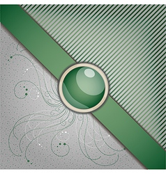 Retro background with ornament vector image vector image
