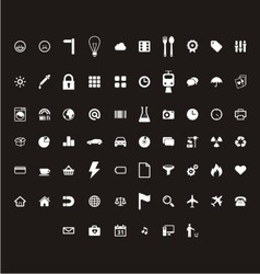 Small icon material vector