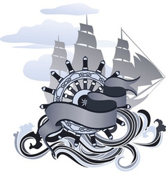 Sea design vector